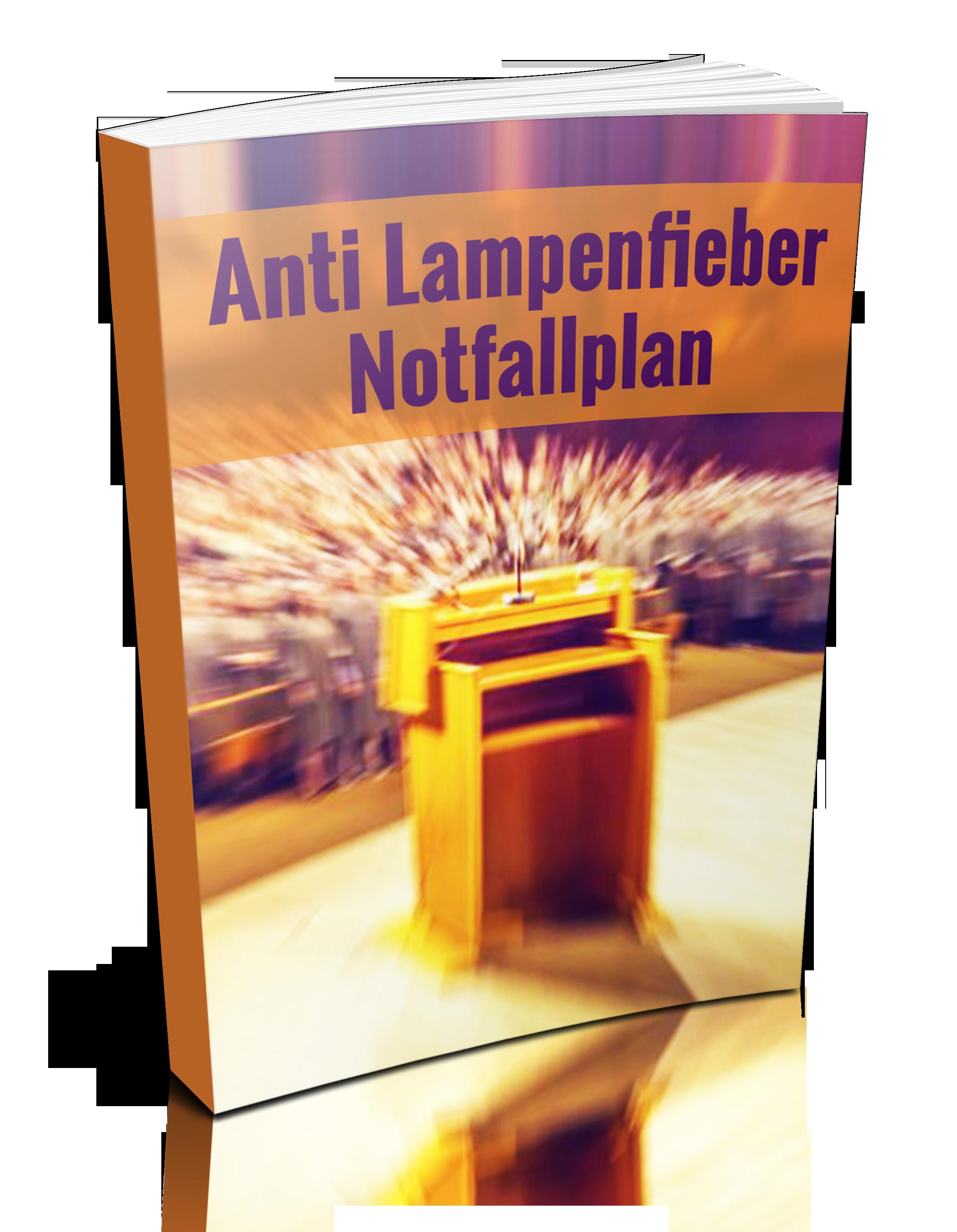 Lampenfieber Notfallplan eBook